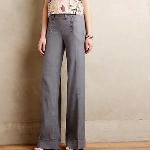 Elevenses Linen Sailor Pants